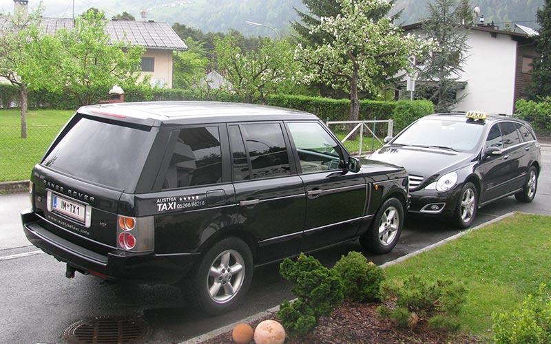 Luxus-Taxi für VIP's